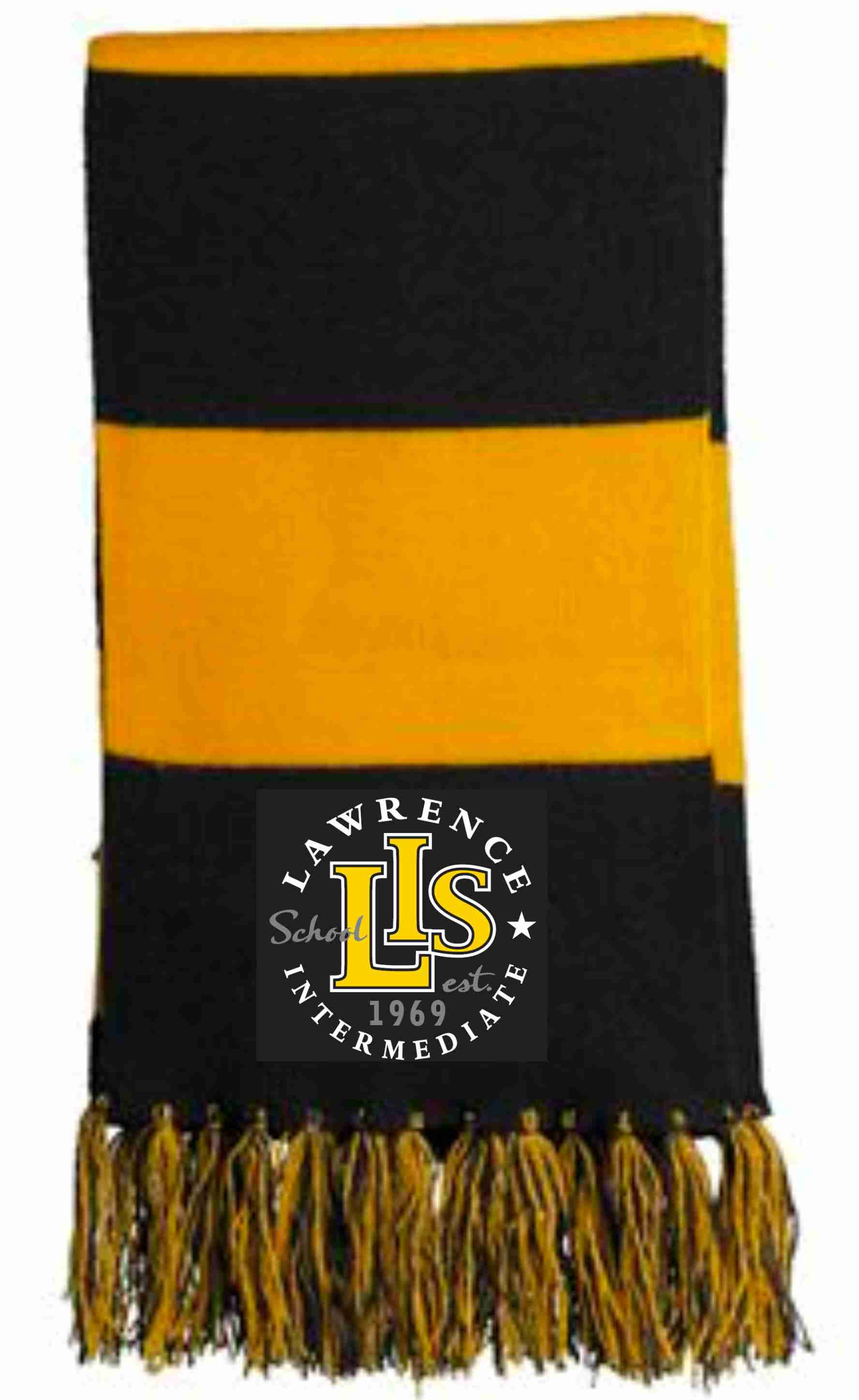 STA02 Embroidered Spectator Scarf